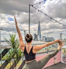 Rooftop Yoga & Breakfast Event by Tower of London – The Yeh Yoga Co.