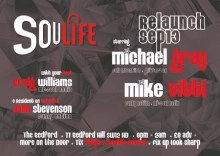 Soulife RELAUNCH @The Bedford
