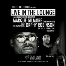 Orphy Robinson x Marque Gilmore – Live in the Lounge