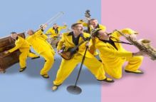 The Jive Aces bring their top high energy jump jive outfit back to Hideaway