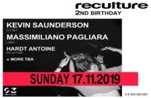 Reculture 2nd Birthday – Kevin Saunderson + Massimiliano Pagliara