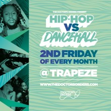 Hip-Hop vs Dancehall @ Trapeze Basement – Fri 14th August