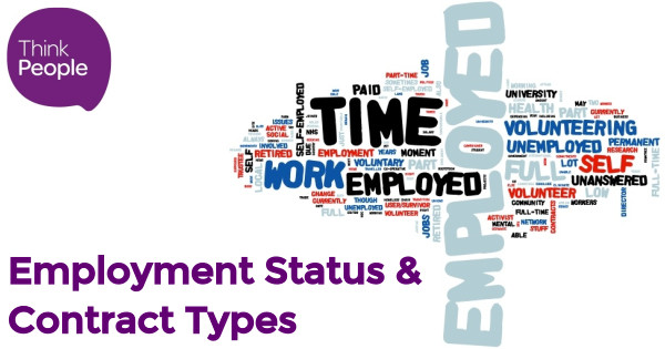 Employment Status  Types of Contract - Think People Consulting