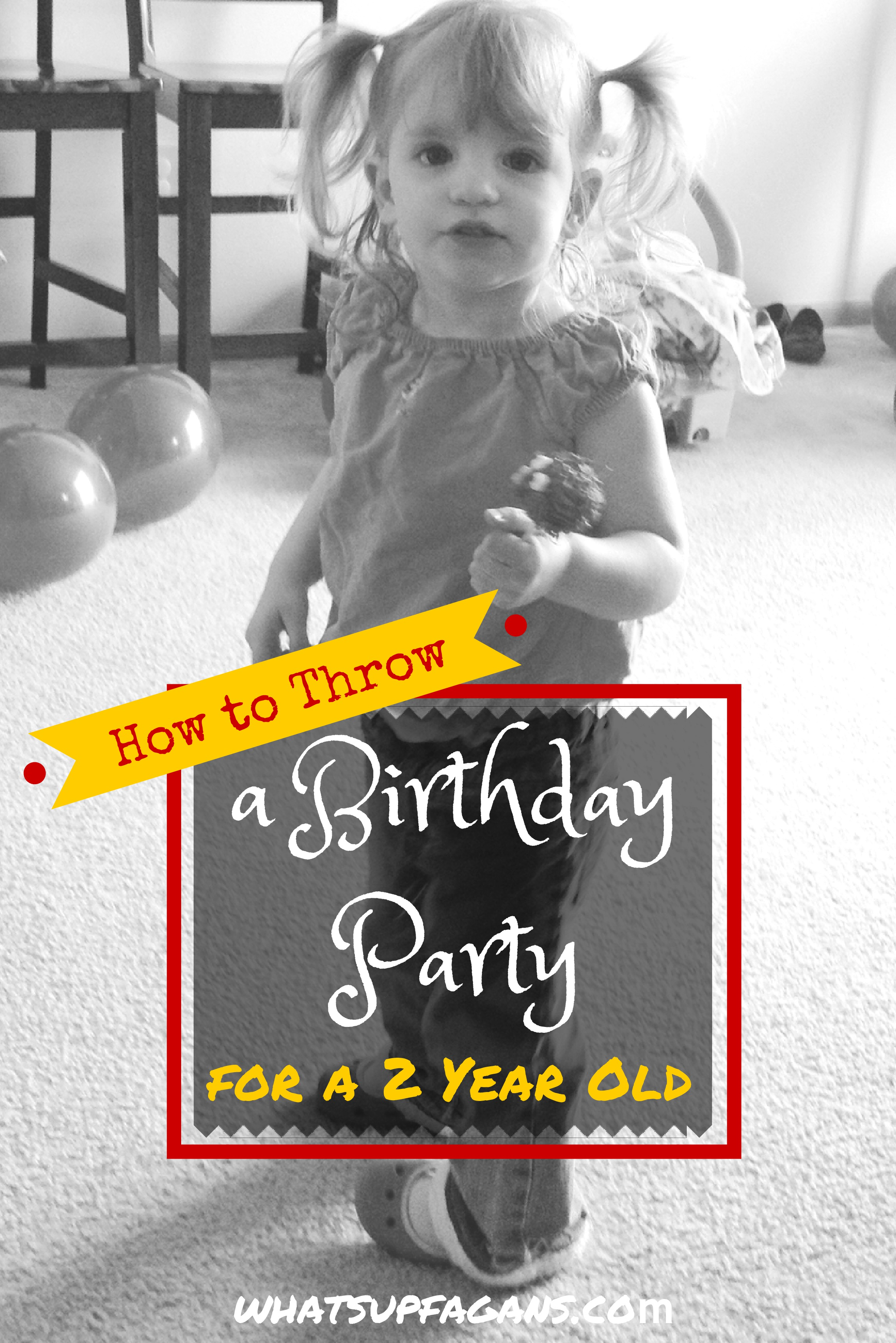 Toddler 2 Years Old Birthday How To Throw A Birthday Party For A Two Year Old