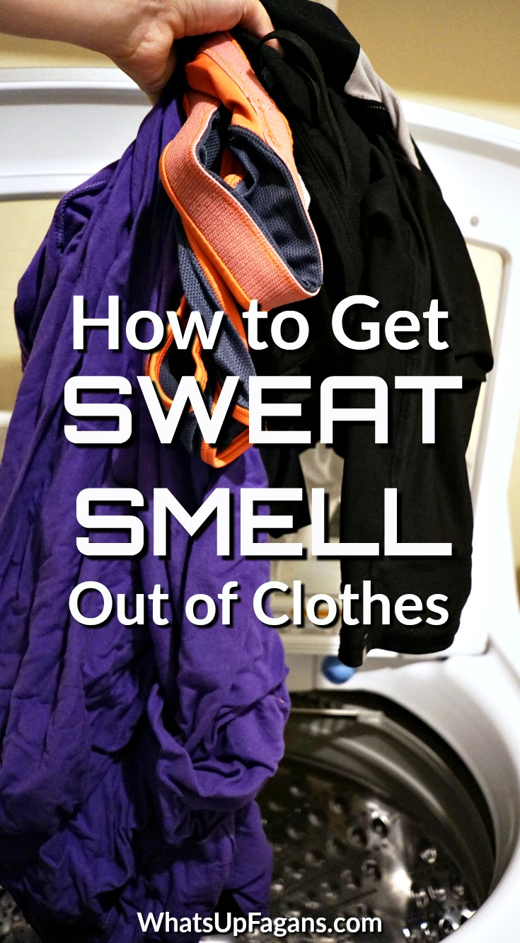 How To Get Urine Smell Out Of Clothes How To Get Sweat Smell Out Of Workout Clothes Even After Washing