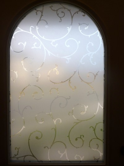 how to install a decorative window film, privacy window film