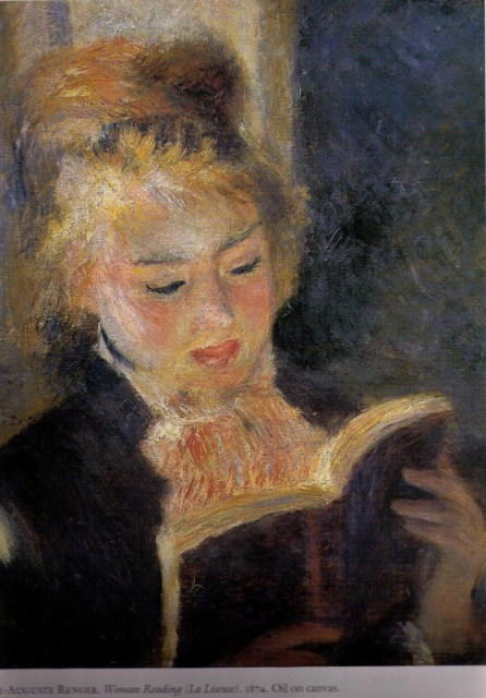 Renior Woman Reading