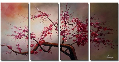 plum blossom painting
