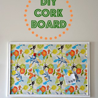 DIY Bulletin Board Tutorial