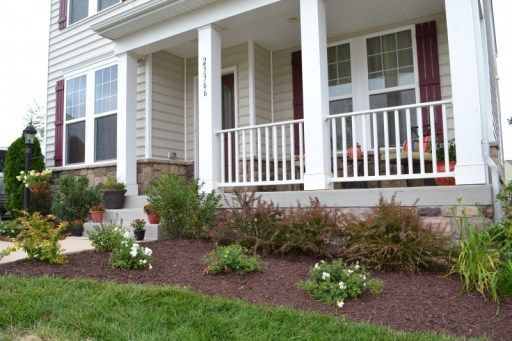 front yard after, front yard landscaping;Front Garden Ideas