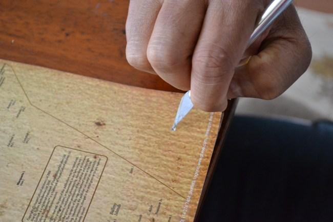 cork board map tutorial