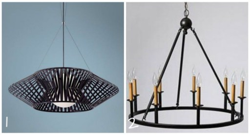 chandelier, Grand Living Room