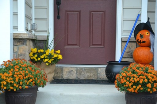 Whats Ur Home Story: Halloween front porch