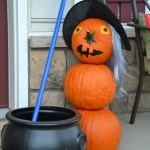 Whats Ur Home Story: Pumpkin snowman
