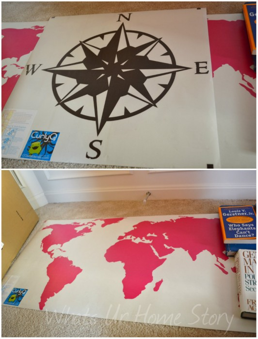 Whats Ur Home Story: Decorating with wall decals
