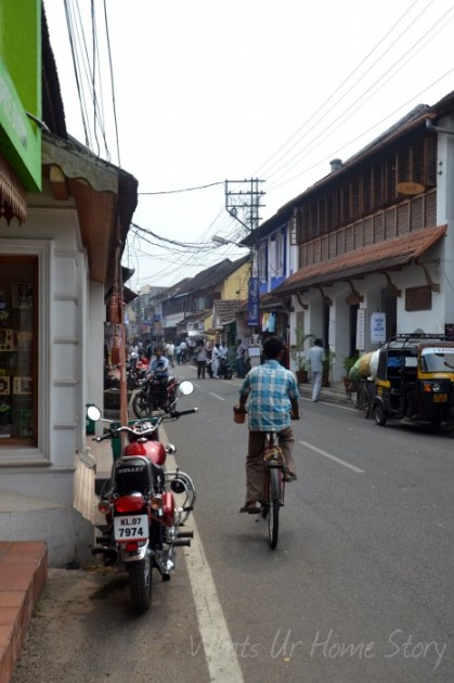 Whats Ur Home Story: Jew Street Fort Kochi,fort cochin jew street