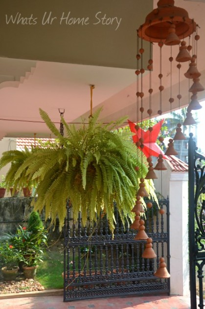 Interior design ideas Indian style: Terracotta Wind Chime,traditional indian home decor