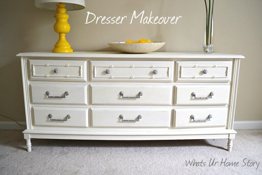 Chalk Paint Dresser Makeover Whats Ur Home Story