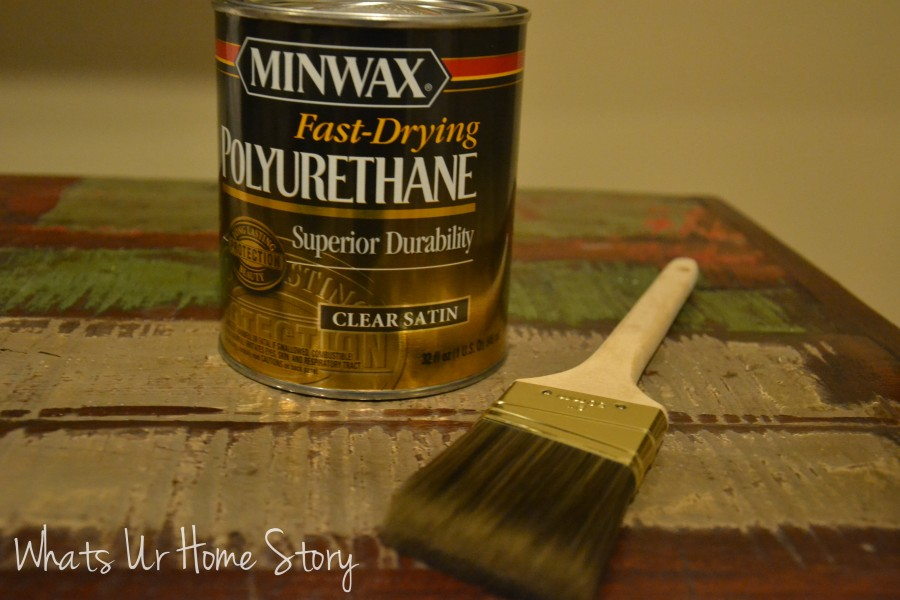 Whats Ur Home Story: Refinished walnut breakfast table, how to stain a wood table top