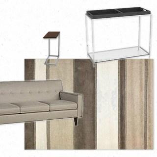 Same Look 4 Less- Contemporary Apartment decor