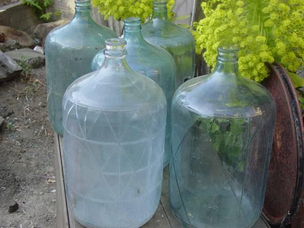 carboy, water jug/bottle, demijohn, Craigslist deals, best craigslist deals