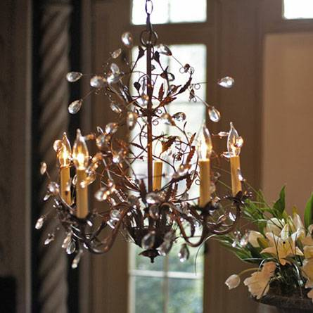arhaus claudette chandelier