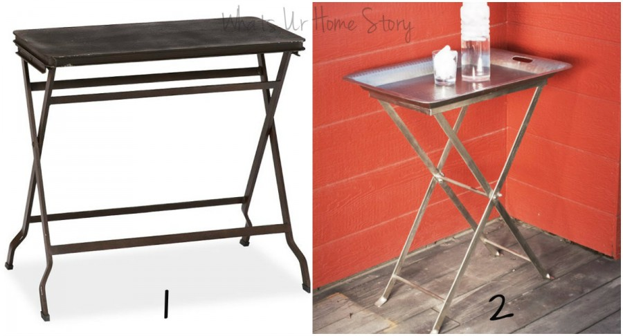 Whats Ur Home Story:tray side table