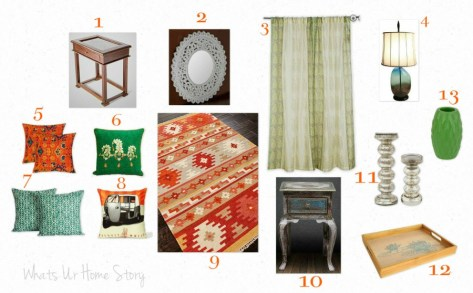 Whats Ur Home Story: Indian Living Room Decor, Indian Living Room Mood Board