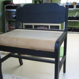Reader Showcase – Mod Podge Bench