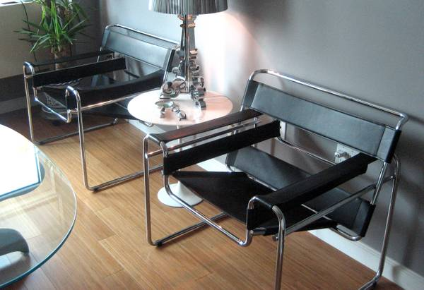Wassily Chairs by Marcel Breuer