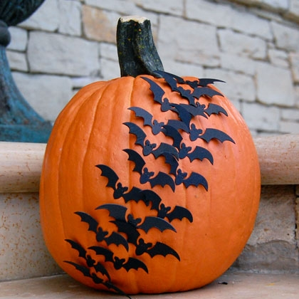 bat pumpkin, Easy DIY Pumpkin Decorating Ideas