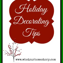 Holiday-decorating-tips, holiday decorating checklist, simple holiday decor