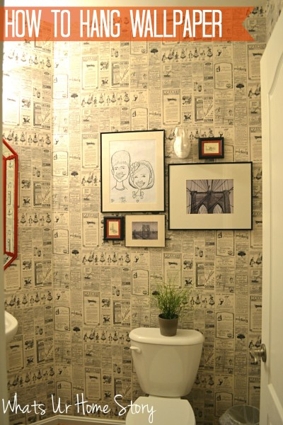 How to Hang Wallpaper | Whats Ur Home Story