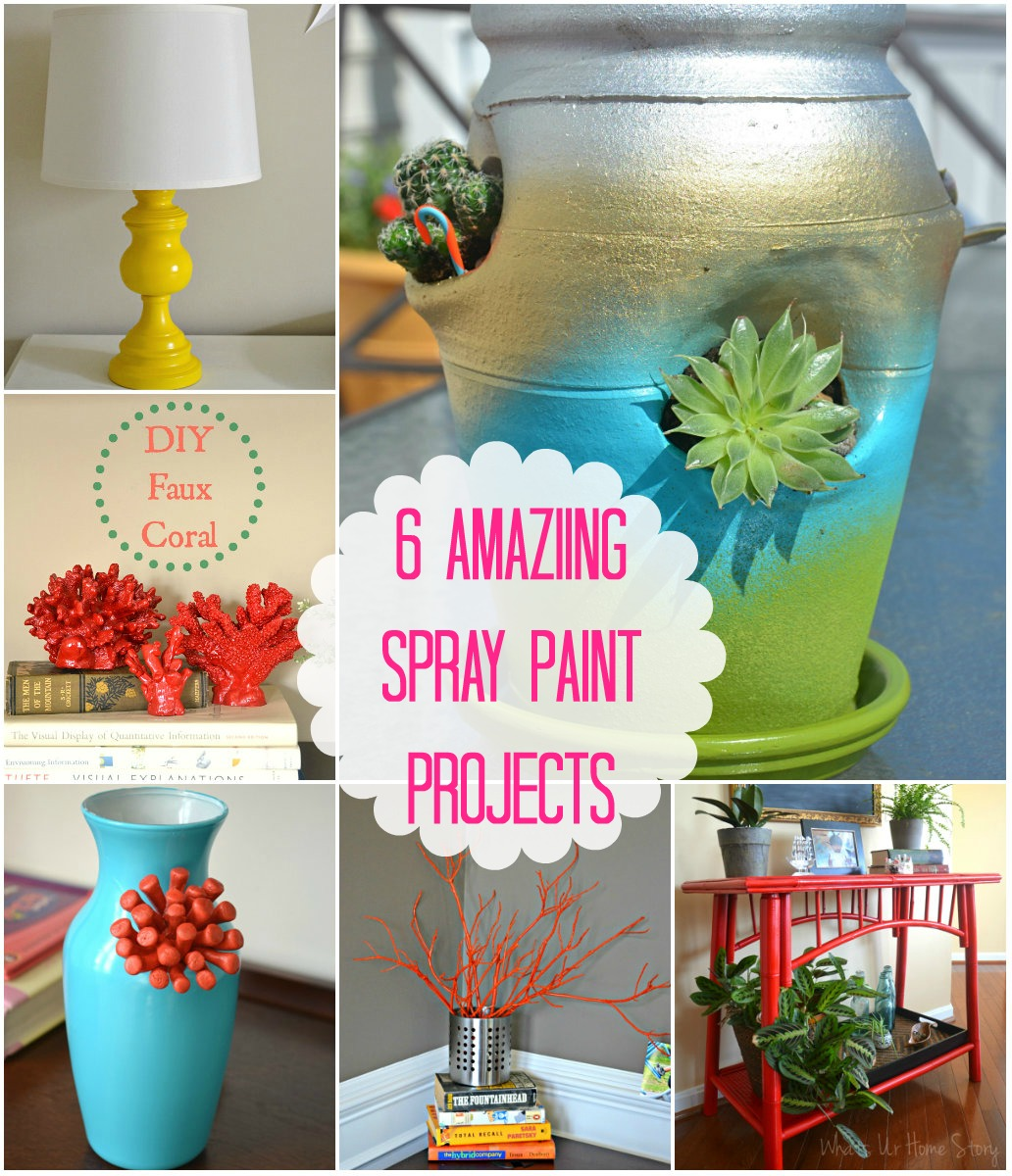 6 awesome spray paint projects