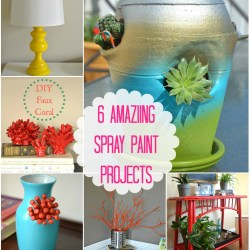 6-awesome-spray-painting-projects, easy spray paint ideas