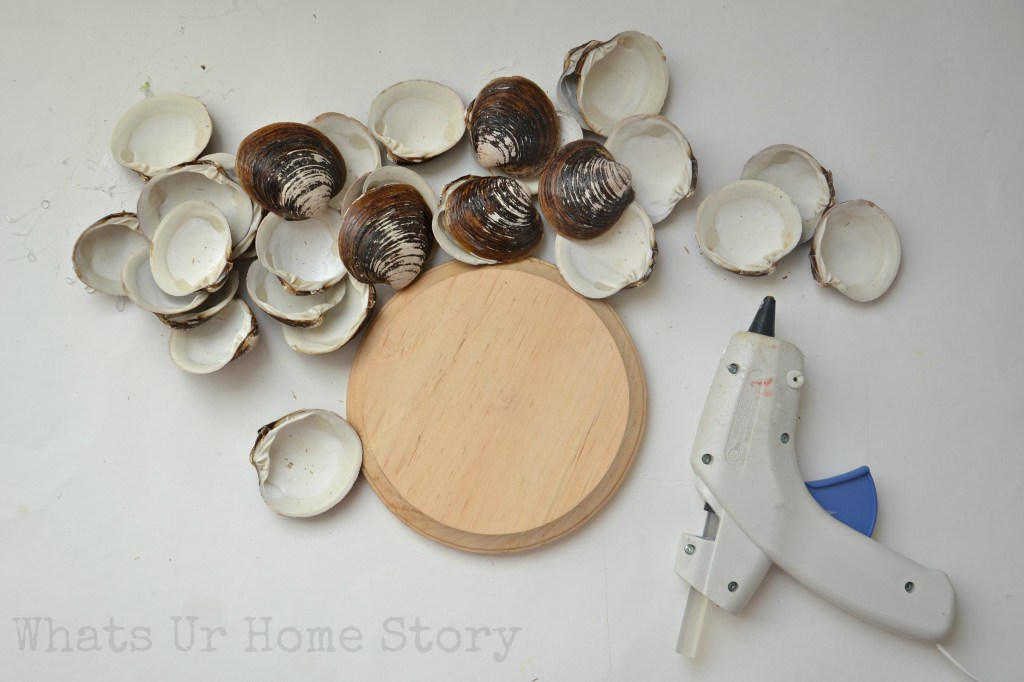 how to make a seashell candle holder