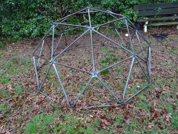 child jungle gym, Craigslist treasures