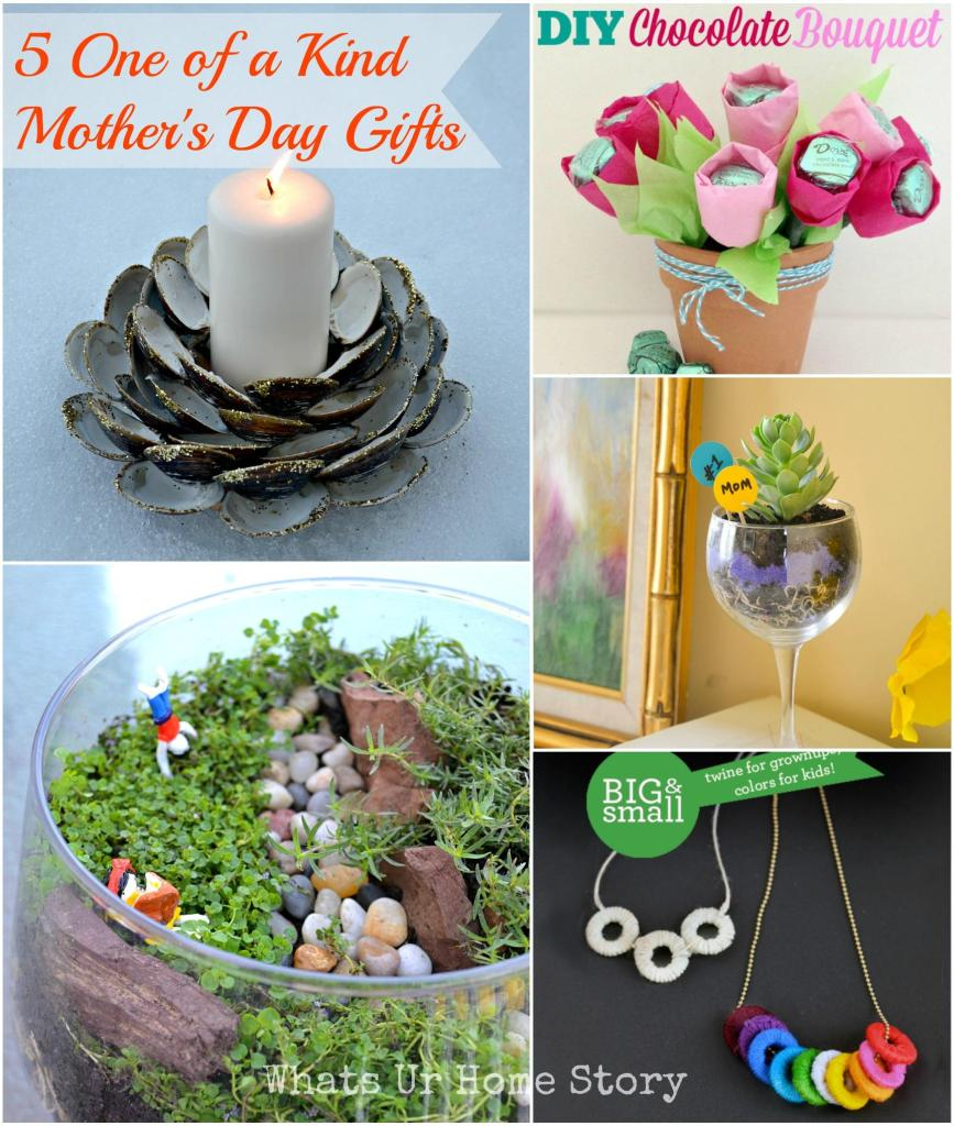5 One of a Kind Mother's Day Gifts. mother's day gift ideas