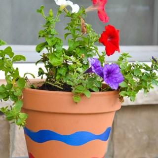 Patriotic Planter