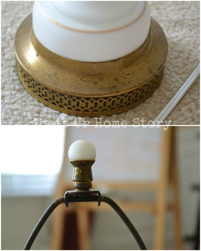 how to update vintage brass lamps