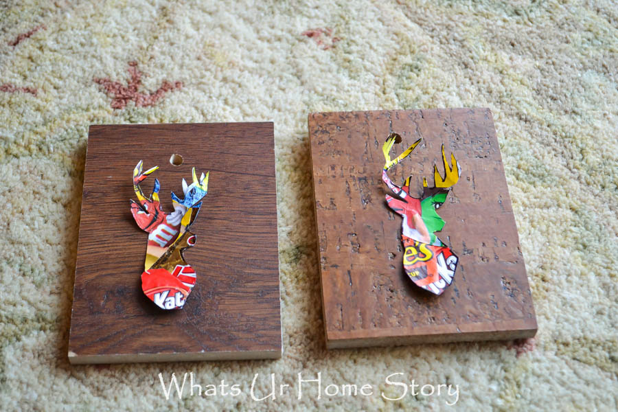 DIY Woodland Reindeer Ornaments