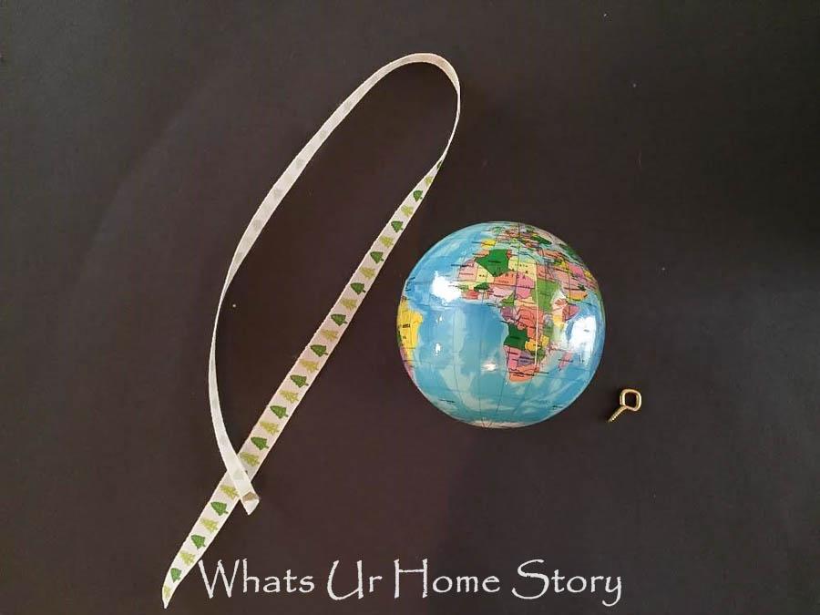 How to make Globe Christmas Ornament