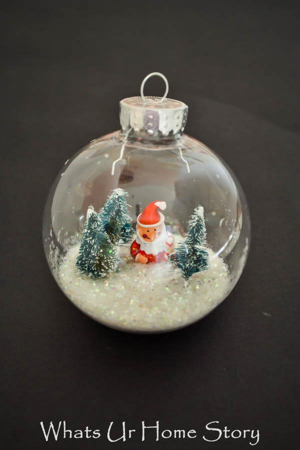 Winter Snow Globe Ornament