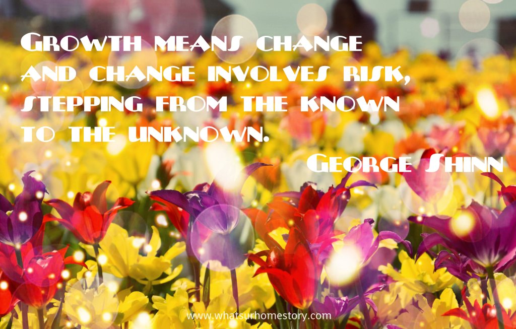 Growth Quote - George Shinn; Check out the post for more free quote printables