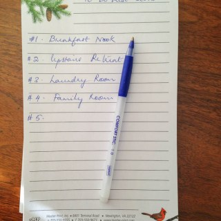 2015 To Do List Update