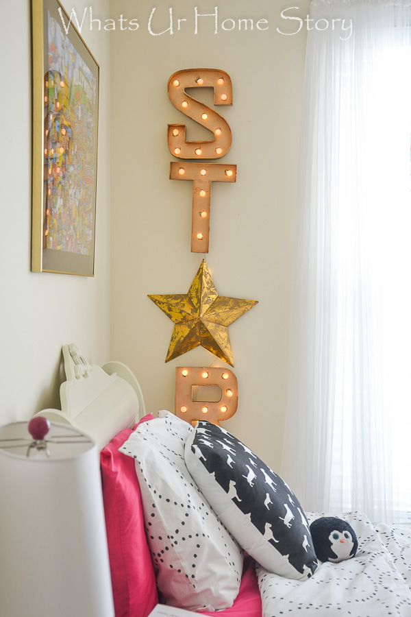 How to make a DIY Marquee letter sign