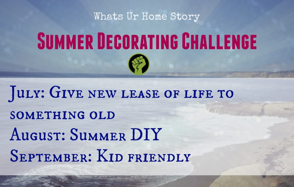 Summer Decorating Challenge -Are you ready