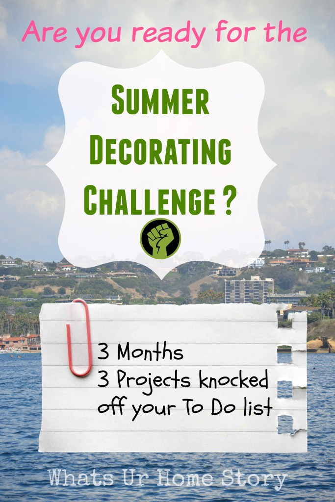 Summer Decorating Challenge
