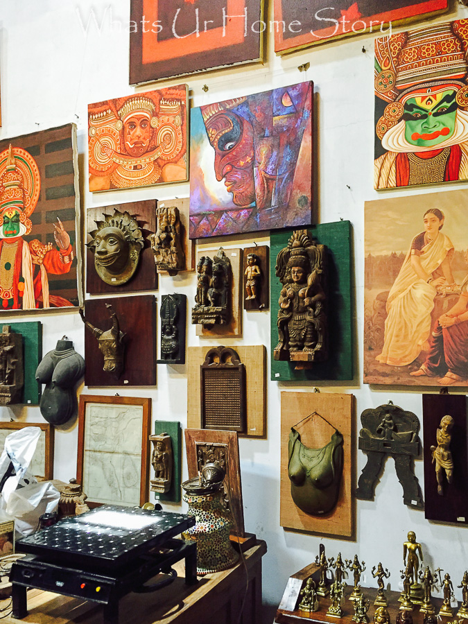 antiquing in Jew town-