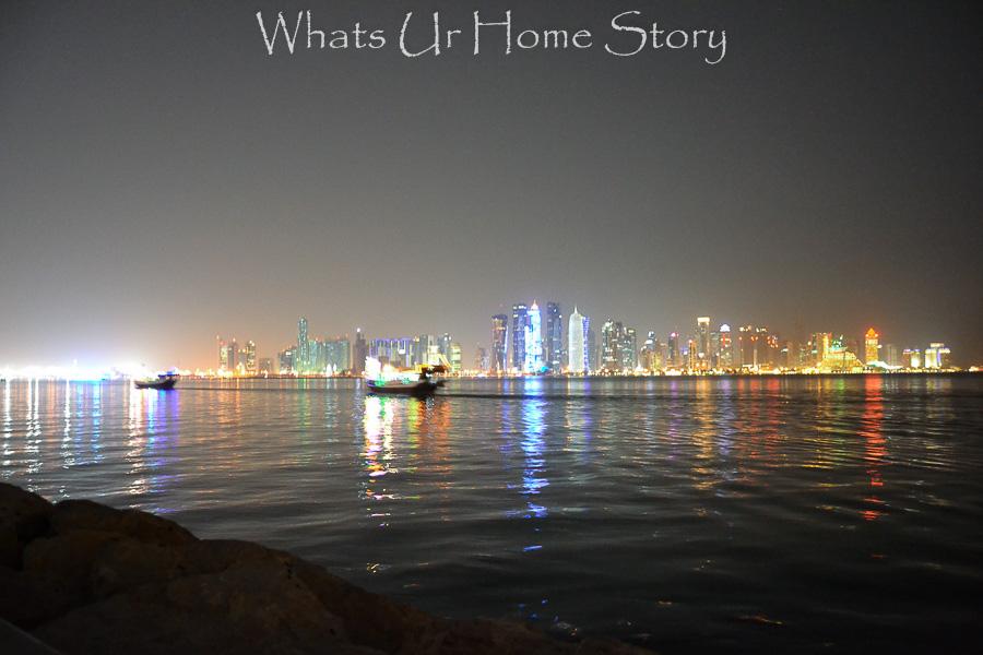 doha skyline, doha city tour
